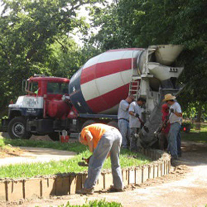 Restoring Historic Walking Paths 410