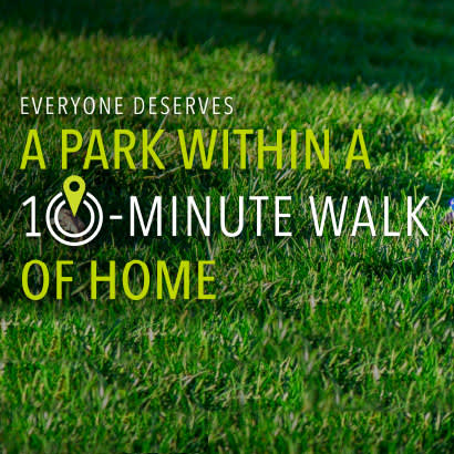 10 minute walk initiatives national recreation and park association