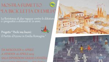 """Mostra-fumetto """"La Bicicletta di Emilia"""""""