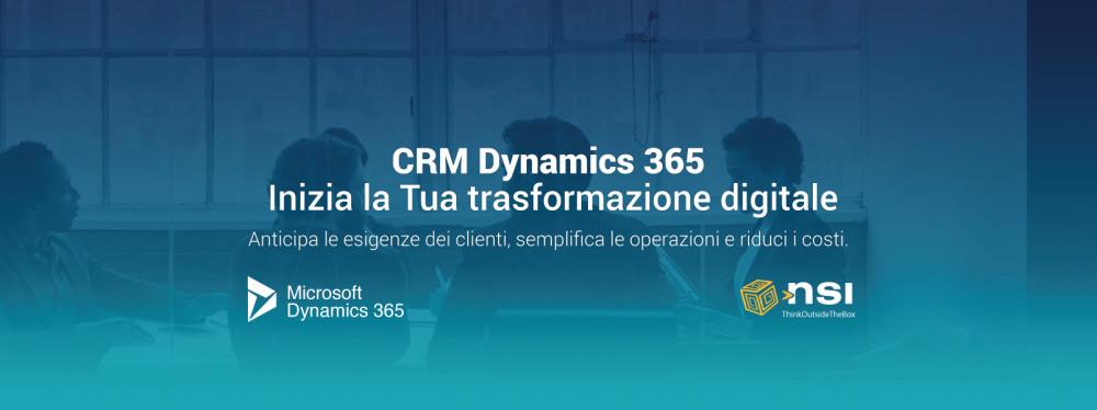 CRM Dynamics 365: Inizia la Tua trasformazione digitale