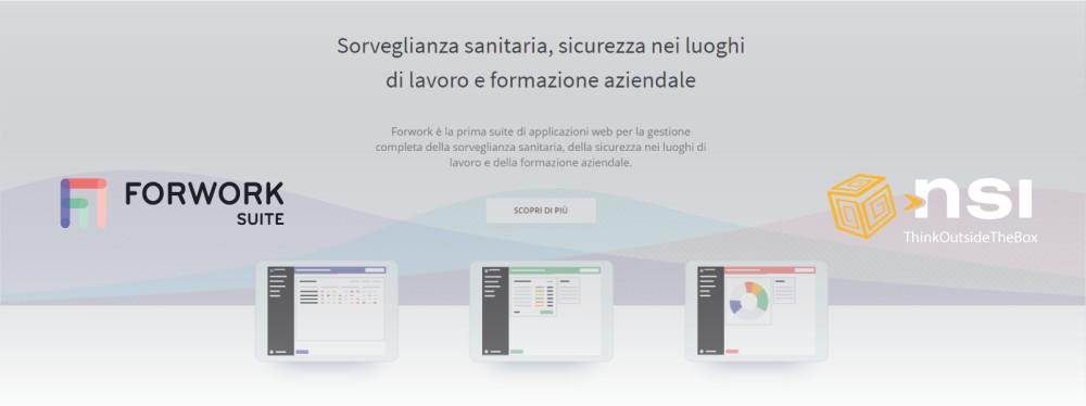 Forwork suite, il software per gestire la sorveglianza sanitaria, la sicurezza e la formazione sul lavoro.