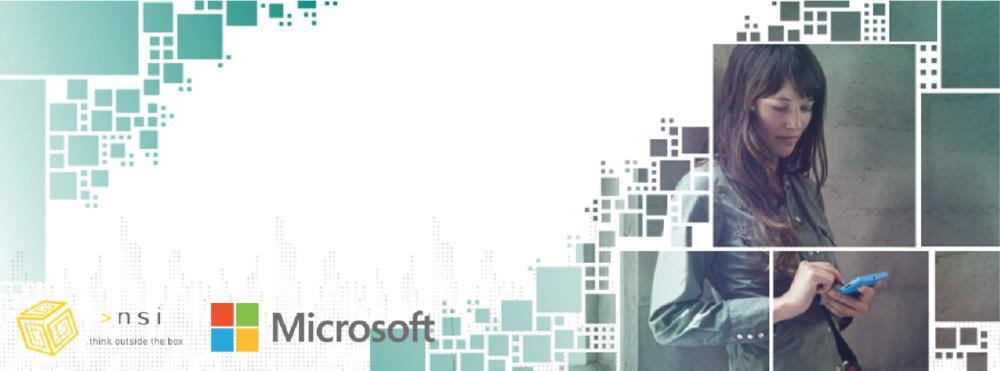 NSI partner Microsoft con la soluzione Microsoft Dynamics CRM per la tua impresa.