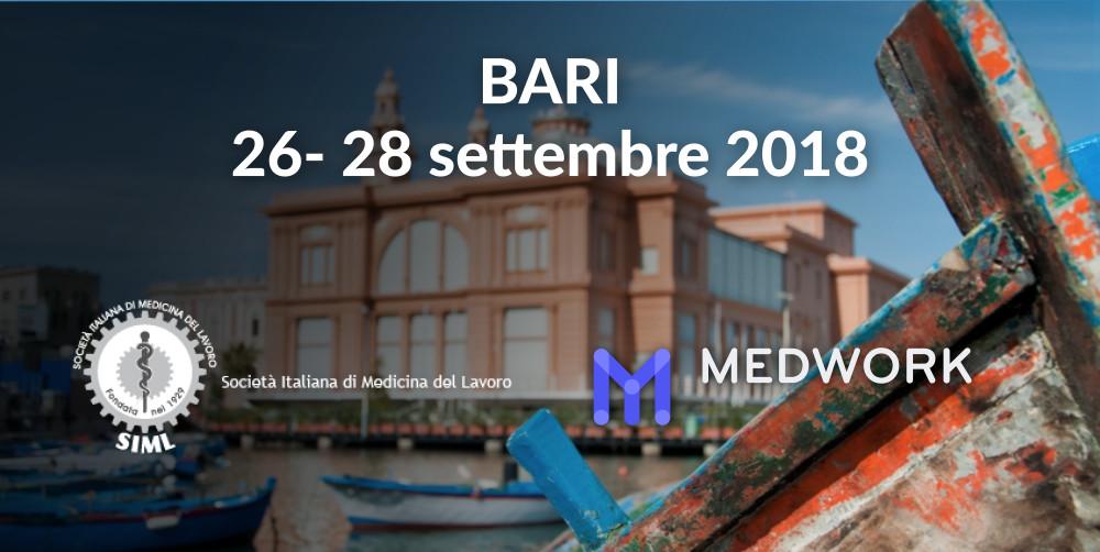 Al SIML 2018 di Bari con Medwork
