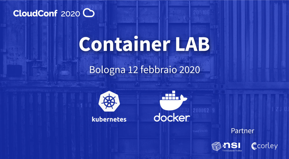 CloudConf2020 Container Lab: Come discover all the secrets of the Cloud!