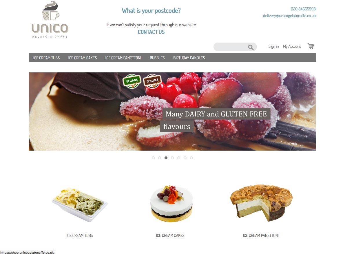 Unico Gelato & Caffè shop