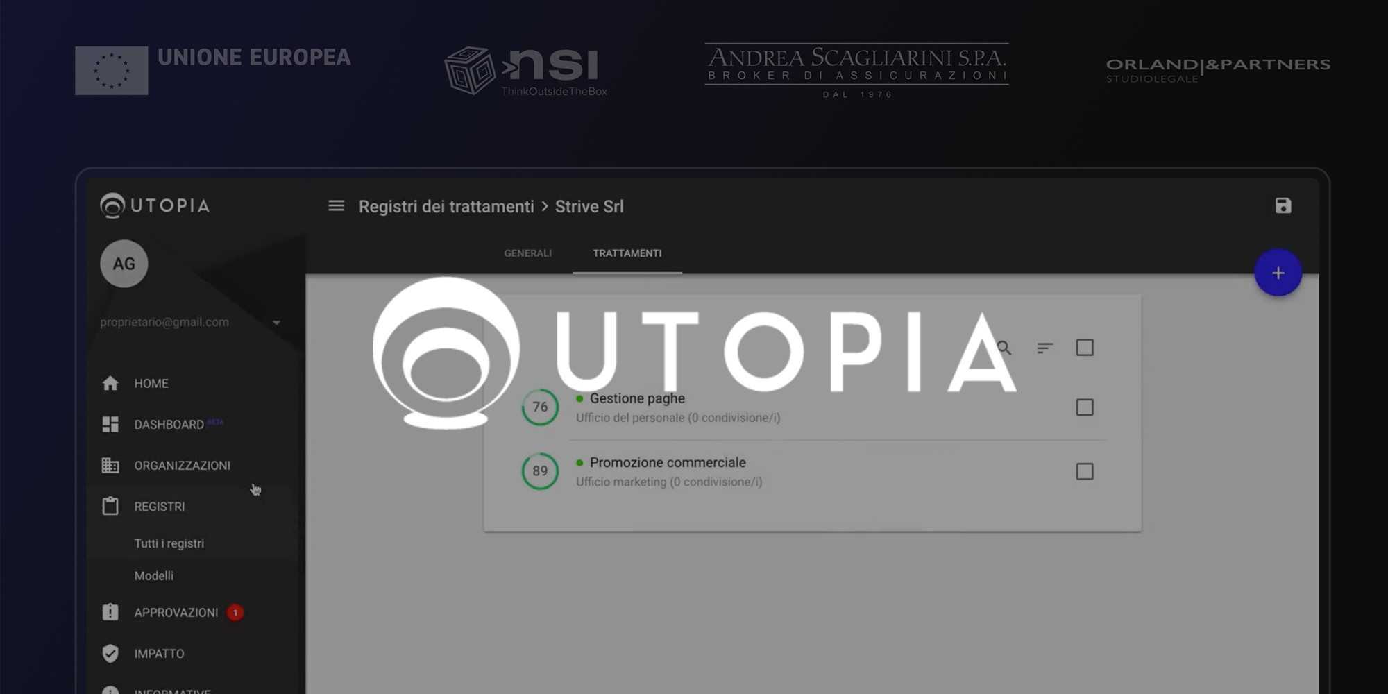 UTOPIA, GDPR Privacy Software