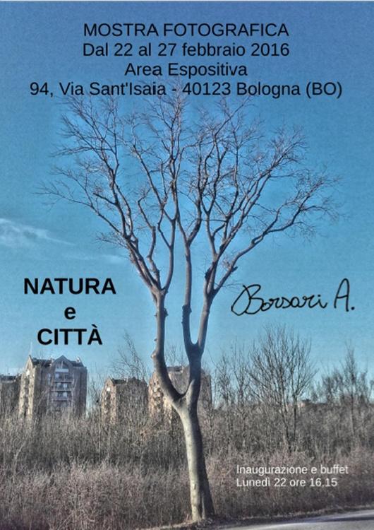 """Mostra fotografica """"NATURA E CITTA'"""" di Alessandro Borsari"""
