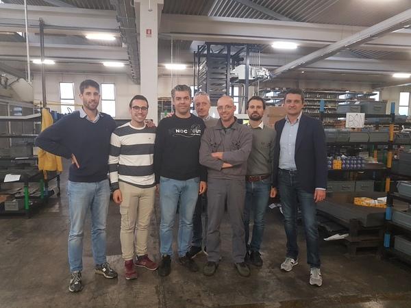 Il team Italcab