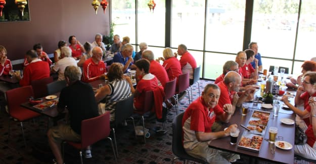Illawarra Chapter members at Figgy Bowlo
