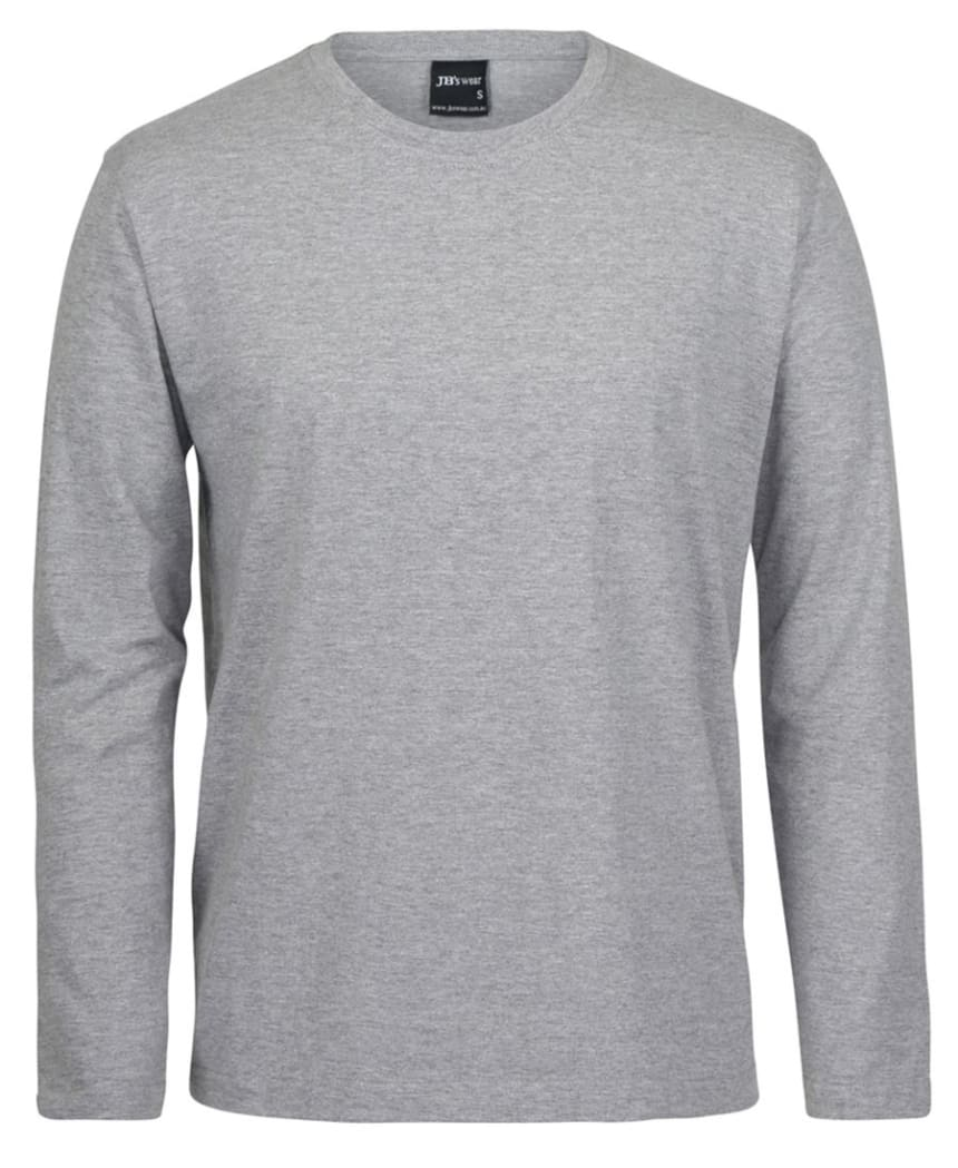 grey marle long sleeve tee