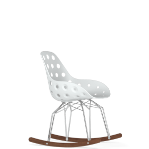 diamond dimple perforated rocker