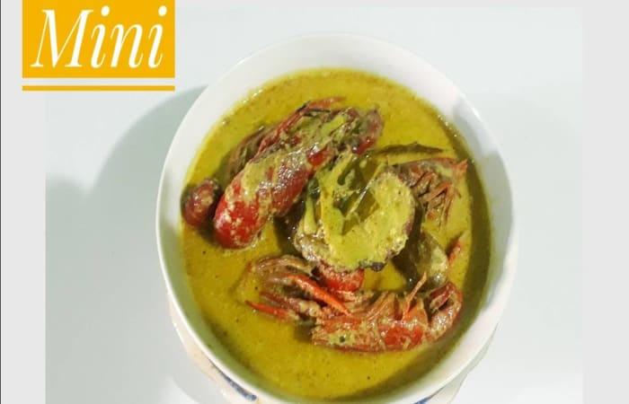 Resep Gulai Lobster Mini Paling Mudah dan Enak