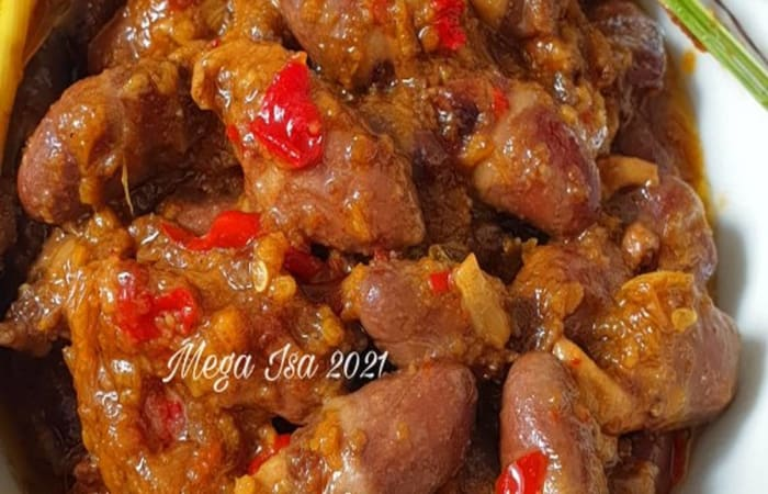 Resep Krengseng Jantung Ayam Favorit Bunda