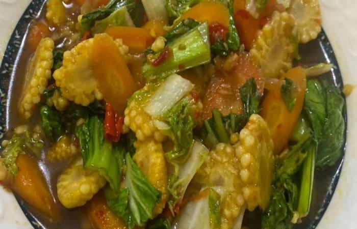 Resep Tumis Sayuran (capcay) Saus Teriyaki Favorit Bunda
