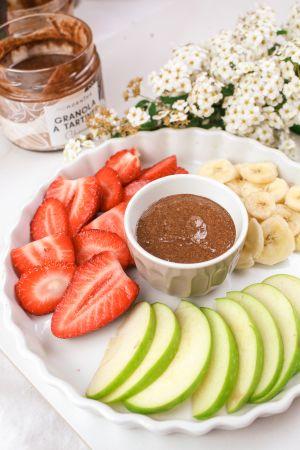 Granola à Tartiner version fondue au chocolat