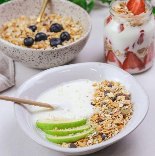 Le yaourt gourmand au Muesli Protéiné Chocohuète