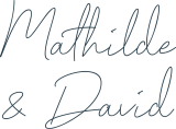 Signature de Mathilde & David