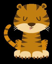 Mascotte Jungo le tigre