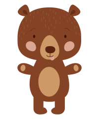 Mascotte Ouly l'ours