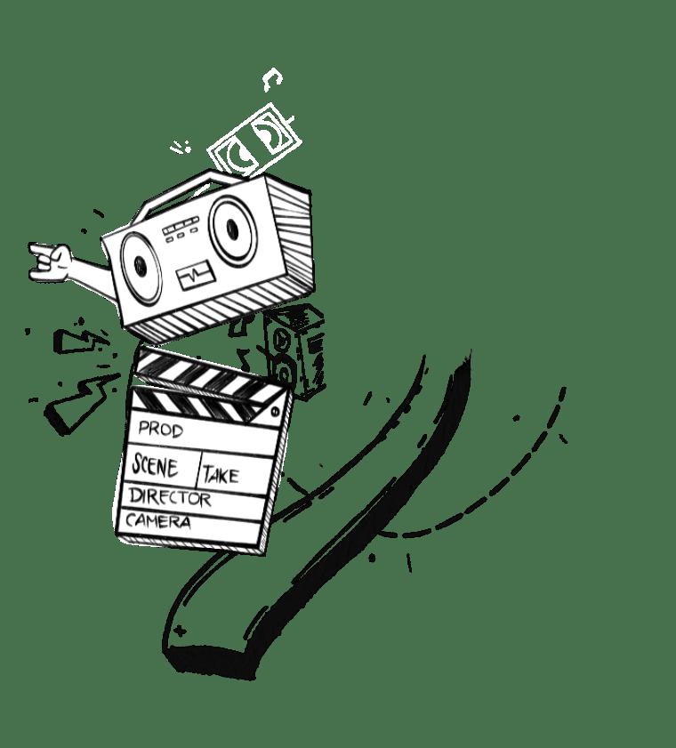 Nuno director reel doodles left side