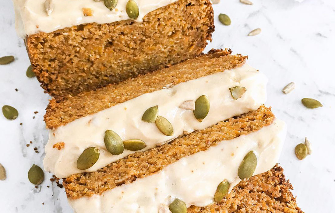Protein Carrot Loaf