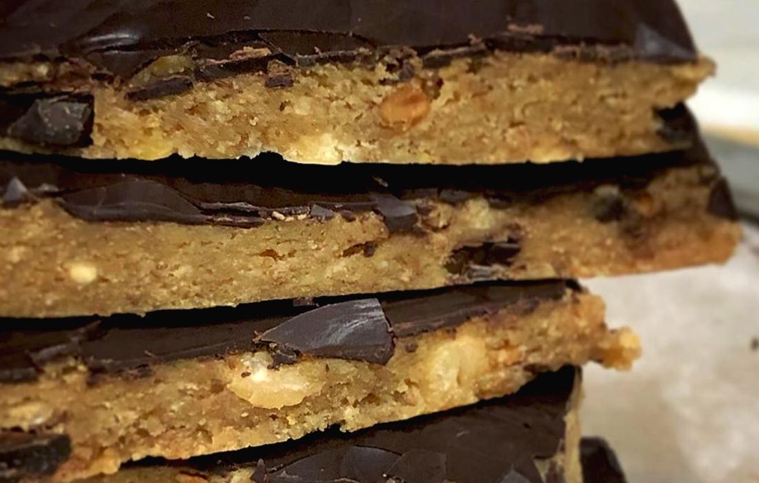 Choc Peanut Butter Slice