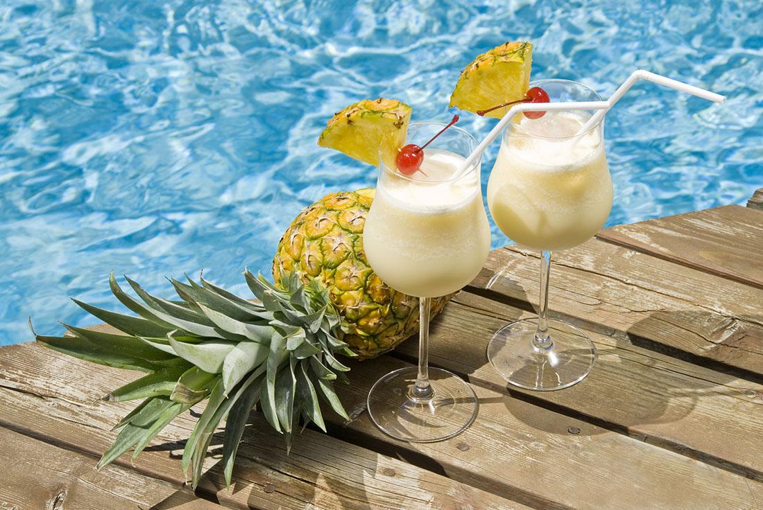 BCAA Piña Colada Mocktail
