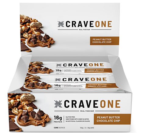 Genetix Crave One Bar Protein Bar for Muscle Gain