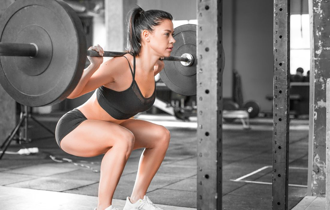 womansquatting