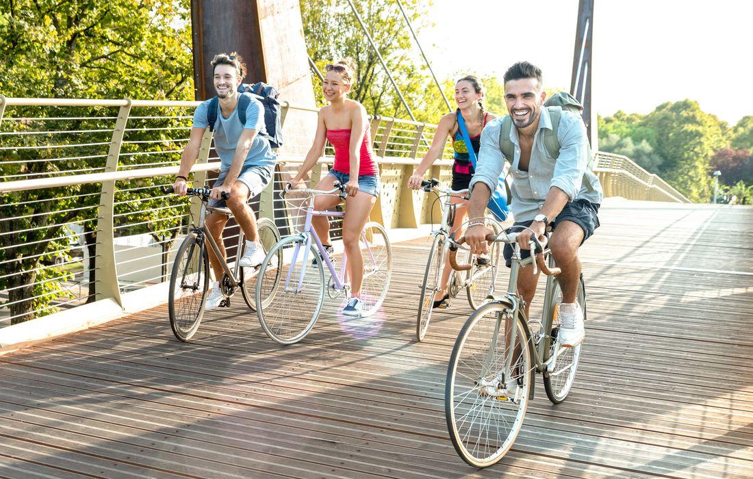 group bike ride