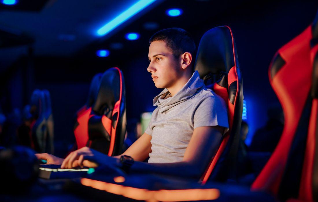guy gaming