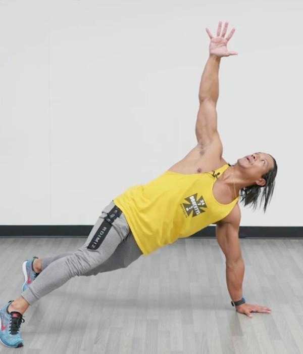 abs exercise external obliques