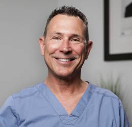 Meet Dr. Osborn. He refers his patients to  The Oral Surgery & Dental Implant Specialists of San Diego.