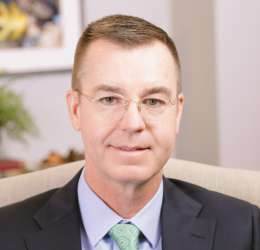 Meet Dr. Hutson. He refers his patients to Park Cities Oral & Maxillofacial Surgery Associates.