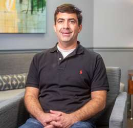 Meet Dr. Simone. He refers his patients to Oral Surgery Services.