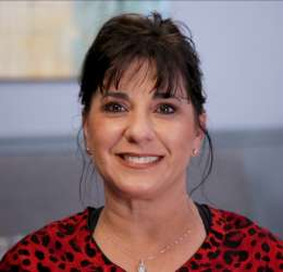 Meet Dr. Palmisano. She refers her patients to Oral Surgery Services.