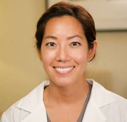 Meet Dr. Chien. She refers her patients to  Oral Surgery Hawaii.