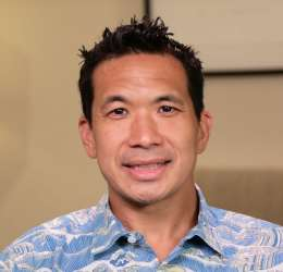 Meet Dr. Chow. He refers his patients to  Oral Surgery Hawaii.