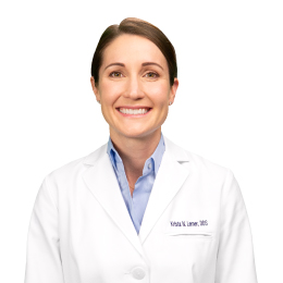 Meet Dr. Krista Lerner, our Oral & Maxillofacial Surgeon.