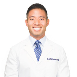 Meet Dr. Blake K. Kitamura, our Oral & Maxillofacial Surgeon.