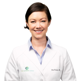 Meet Dr. Eva P. Kiezik, our Oral & Maxillofacial Surgeon.