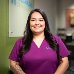 Meet Amanda P, our Asistente odontológica diplomada.