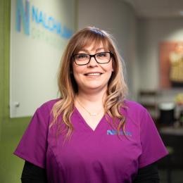 Meet Sasha, our Asistente odontológica diplomada.