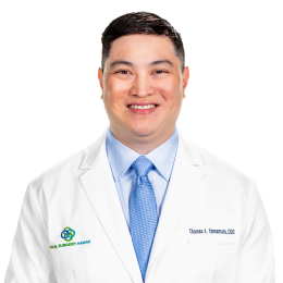 Meet Thomas A. Yamamoto, our Oral & Maxillofacial Surgeon.