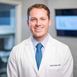 Meet Dr. Beech, our Oral & Maxillofacial Surgeon.