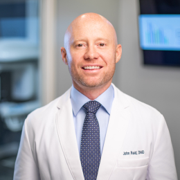 Meet Dr. Reid, our Oral & Maxillofacial Surgeon.
