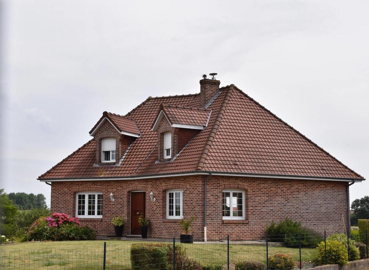 Дом из клинкерного кирпича
