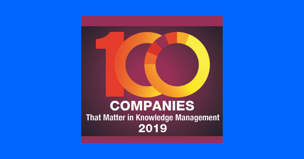 KMworld 100 companies that matter in KM