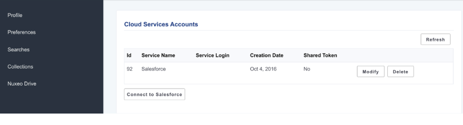 Cloud Services Accounts