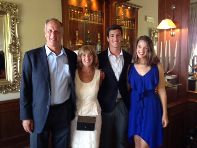 Lisa Marcus with her family